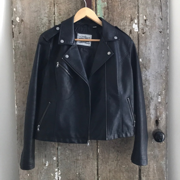 9fc0c107d REDUCED! Levis Strauss Faux Leather Moto Jacket!